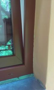 Natřená plastová okna