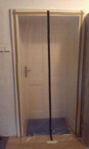 Protiprachová fólie na dveře se zipem